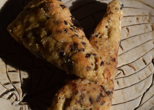chocolate Chip Scones Senza Glutine by Carmela