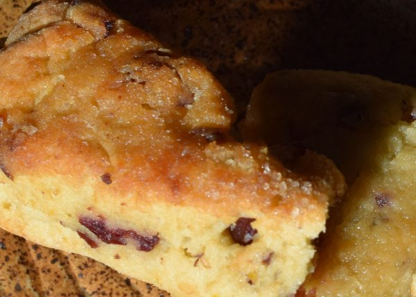 cranberry orange scones senza glutine by carmela